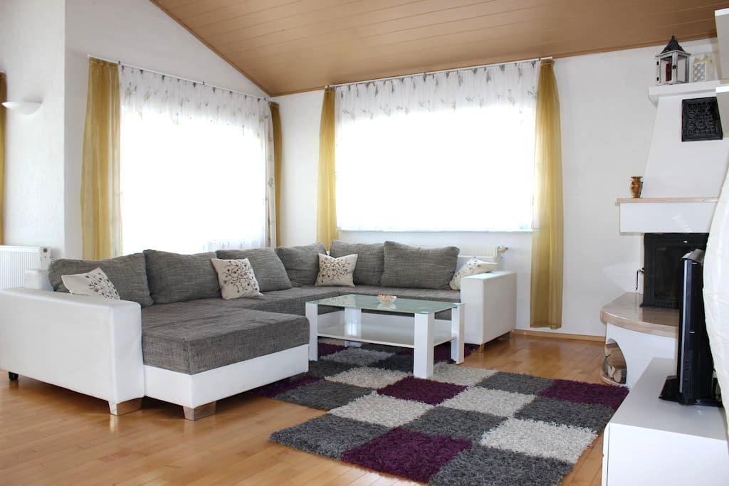 Exklusives Wohnen mit Kamin - Bietigheim-Bissingen - Apartemen