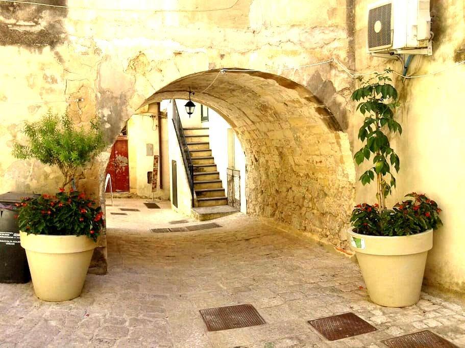 Central room, private bath. & kitc. - Ragusa - Casa