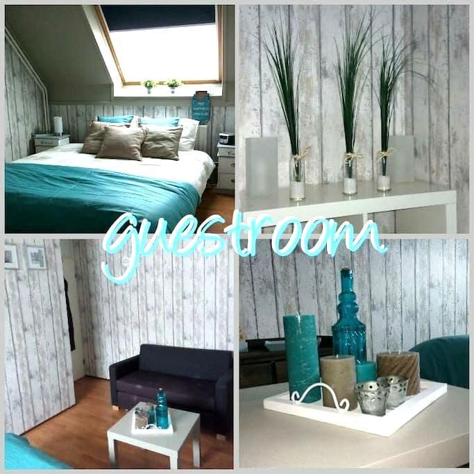 Nice clean room in a common Dutch house - Heemskerk