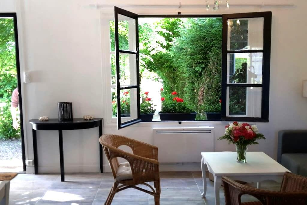 Gîte des Glycines 4 pers (2 chbres) - Cour-Cheverny - บ้าน