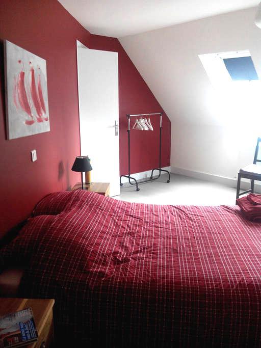 Le Touquet Chambre dans villa calme - Le Touquet Paris Plage