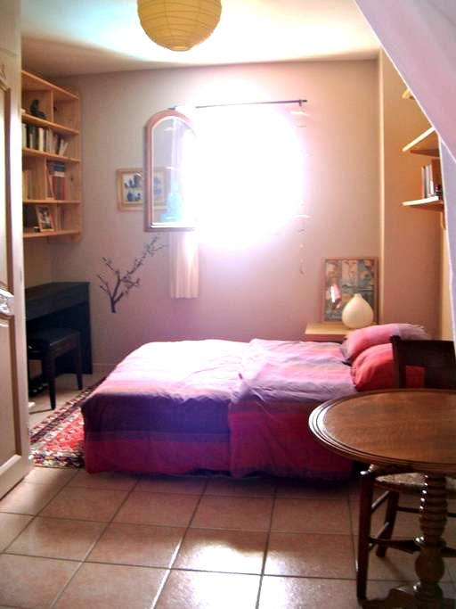 Chambre indépendante dans maison - Junas - House