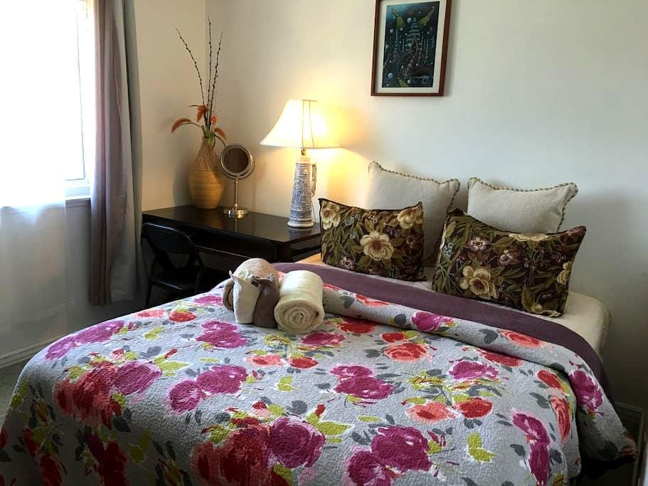 Sunshine California with queen bed - Santa Maria - Bed & Breakfast