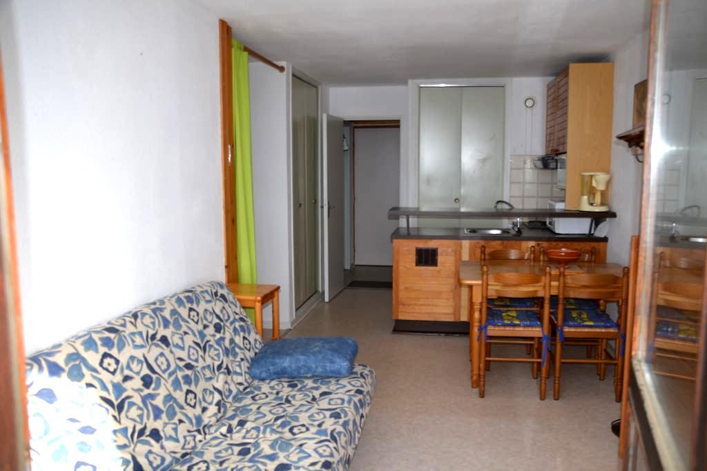 T1 bis meublé près pistes expo sud - Font-Romeu-Odeillo-Via - Apartament