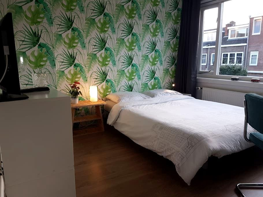 Comfortable room with 2 bikes to move around town - Utrecht - Huis