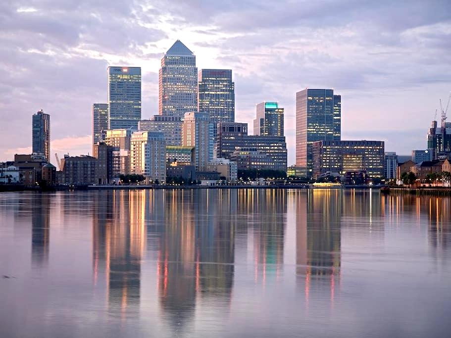 Affordable Luxury Apartment & Views - Canary Wharf - Londres