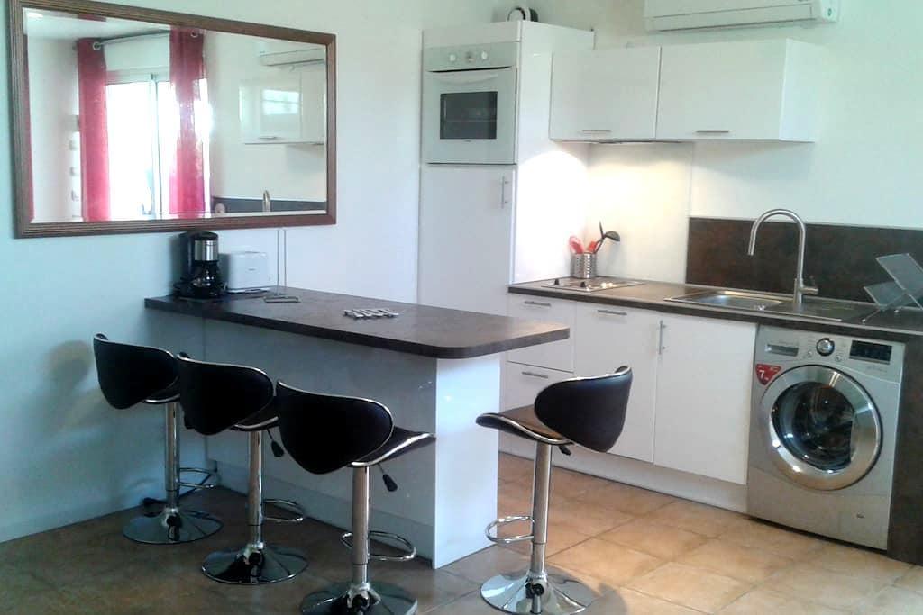 studio meubl villeneuve loubet pour 4 personnes apartments for rent in villeneuve loubet. Black Bedroom Furniture Sets. Home Design Ideas