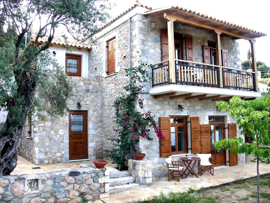 Traditional Stone House - Tiros