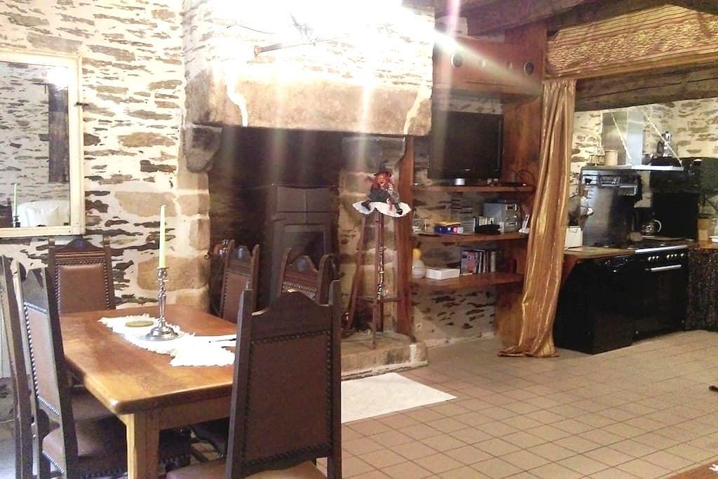 GITE DE LA POTERIE HEART OF ROCHEFORT EN TERRE - Rochefort-en-Terre - Casa