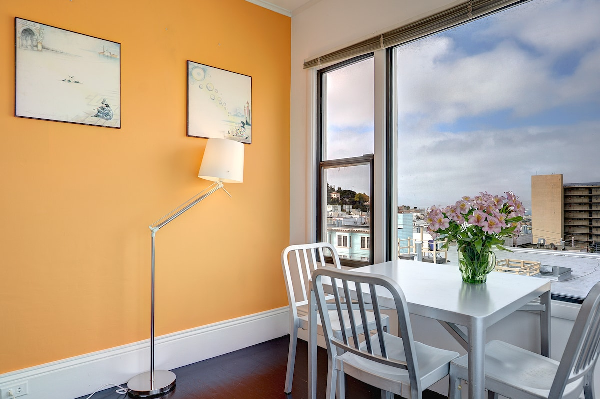 Charming 2 Bedroom in Russian Hill!