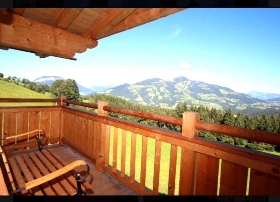 Luxury Room in Kitzbuhel Alps with panaroma - Hopfgarten im Brixental - ที่พักพร้อมอาหารเช้า