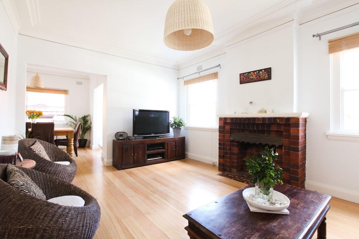 Gorgeous Bondi Apartment With Yard