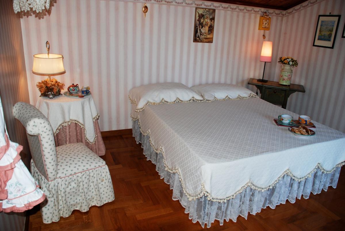 Villa La Castagnola -Camera La Rosa