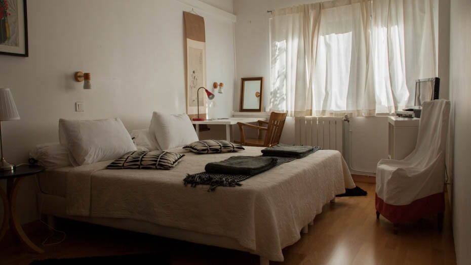 room in a nice and quiet villa