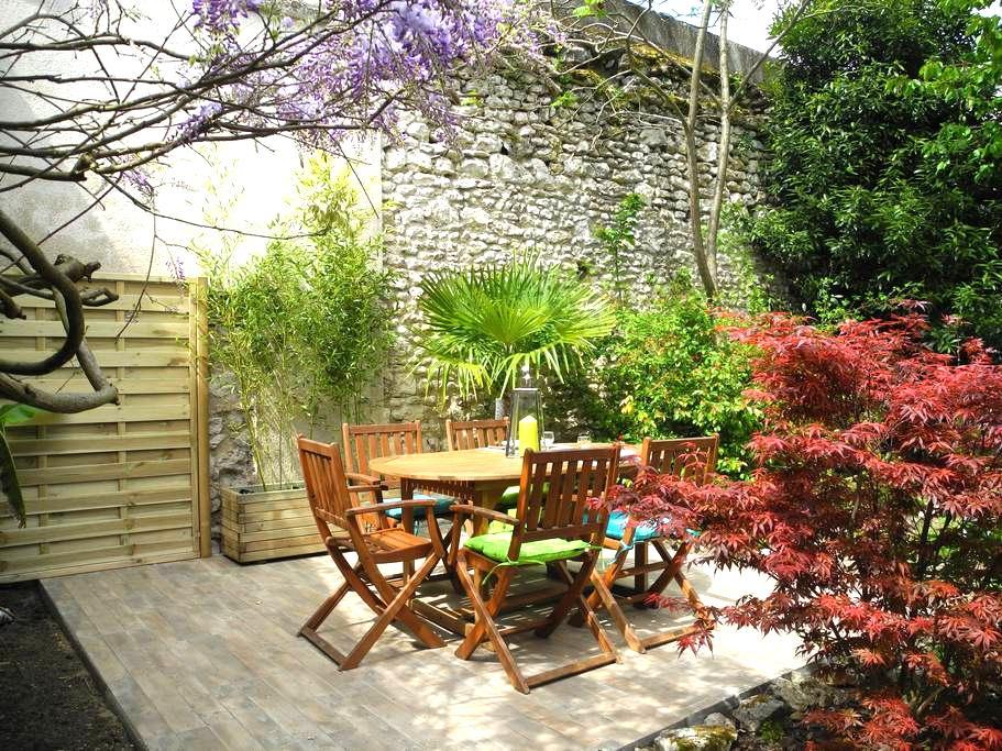 """""""Happy House"""" - Maison de ville avec jardin - Blois - Casa"""