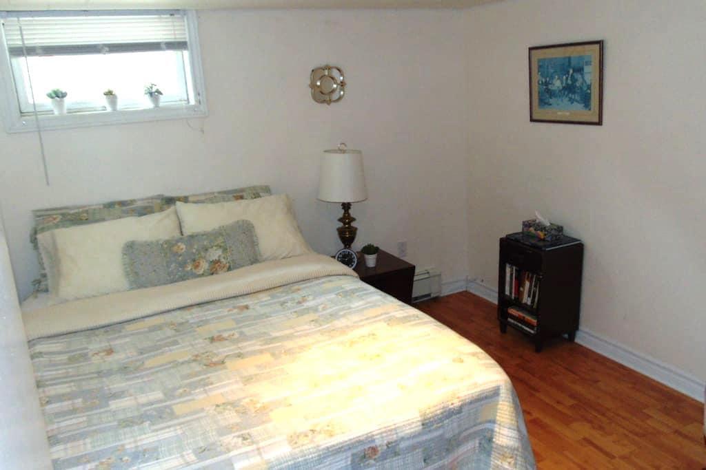 1 bedroom basement apartment - Fredericton