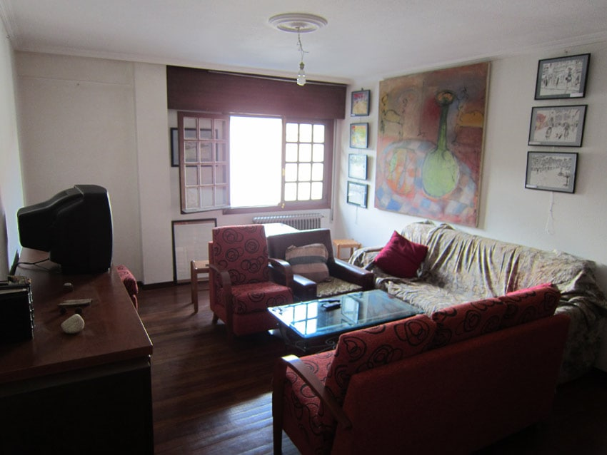 Room in Santiago of Compostela close to cathedral. Spacious and bright living