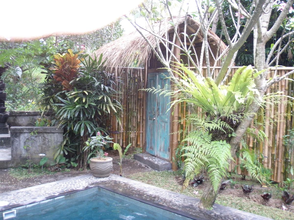 Pondok Maya side of the fence