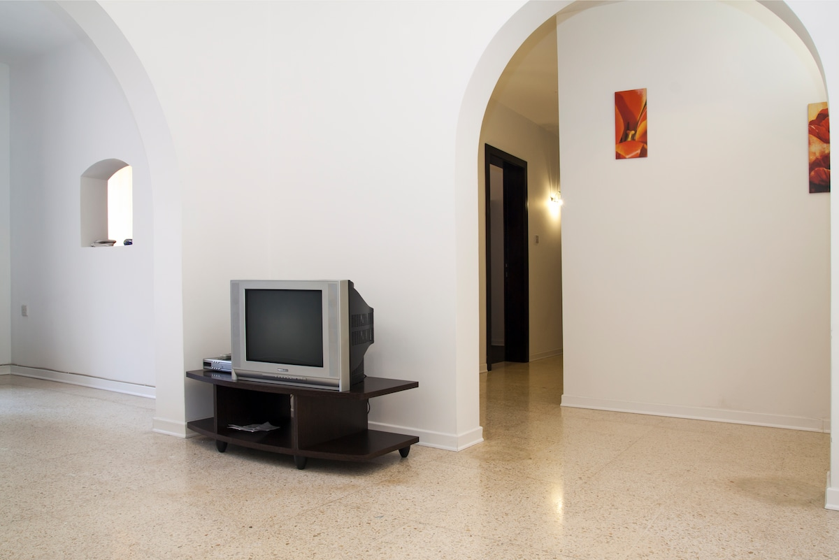 Living and TV area