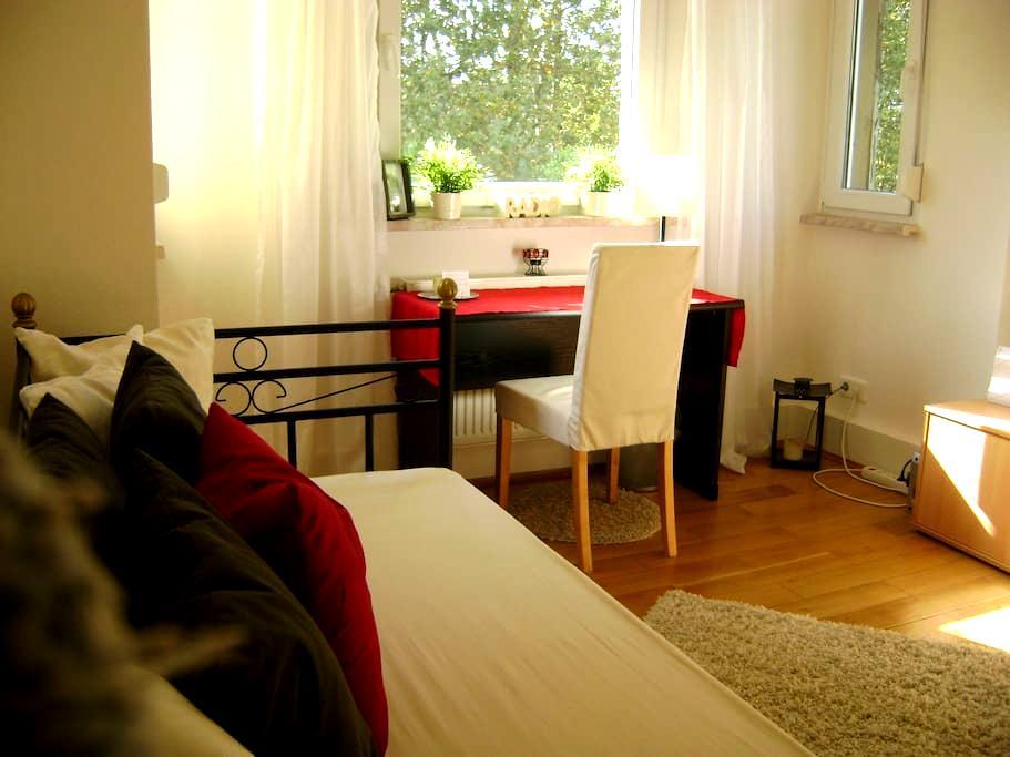 Gemütliches Zimmer nahe Frankfurt - Offenbach - Lägenhet