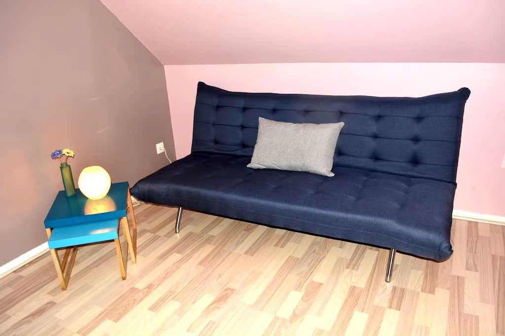 Private room 45 min to Paris La Défense&St Lazare - Vauréal - Ház