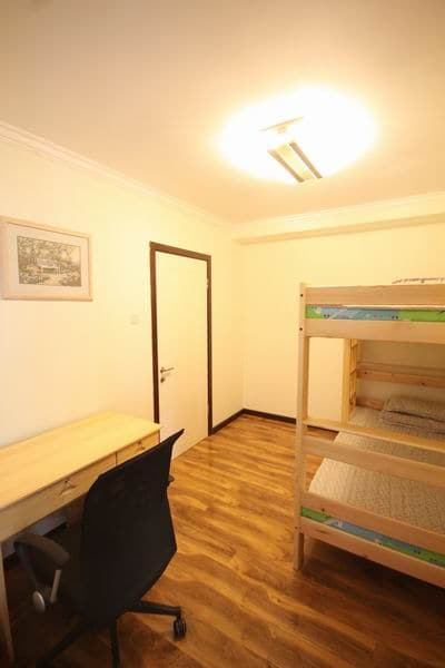 Single bunk beds room with a desk ,a wardrobe ,Wi-Fi      38USD  /per night
