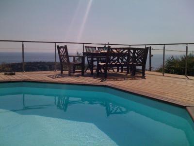 Villa  near Monaco with sea view