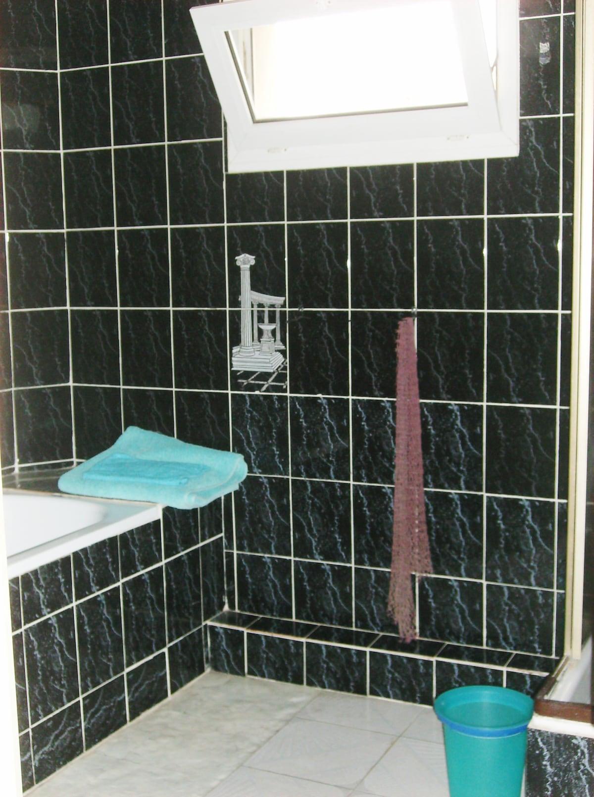 Salle de bain privée attenante à la chambred'hôte
