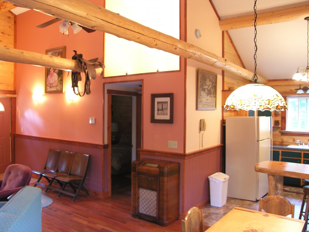 Main living/kitchen  area .