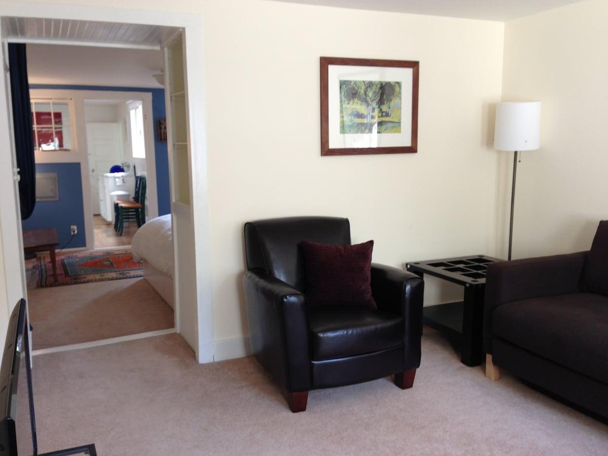 View through apartment