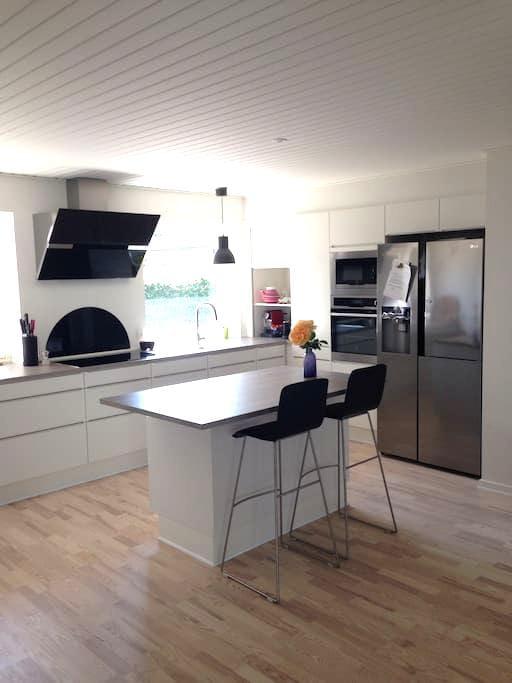 Cozy house with wonderful garden - Ringe - Casa