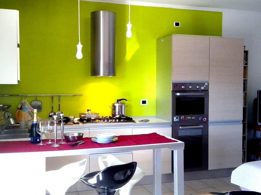 Appartamento  con terrazzo e Wi-Fi (2+1 posti) - Dogana - Lägenhet