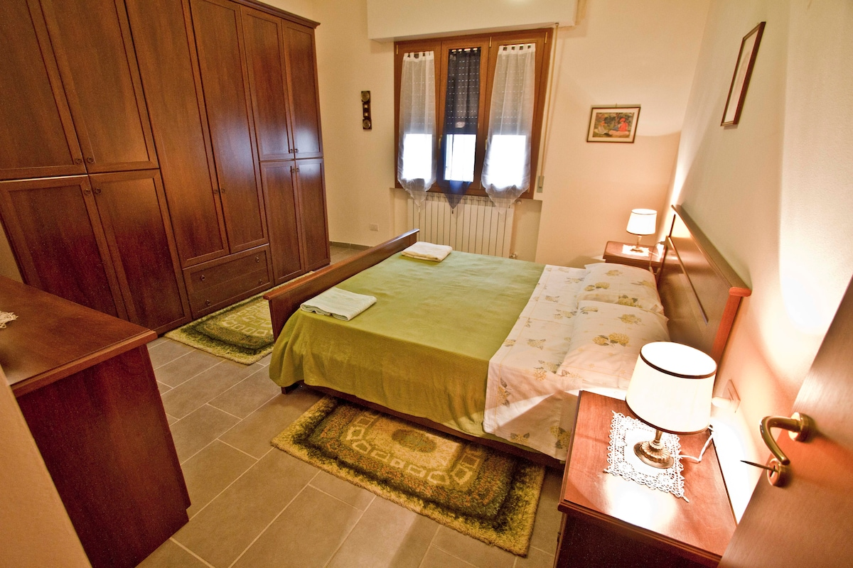 double large bedroom and all apartment only for you!