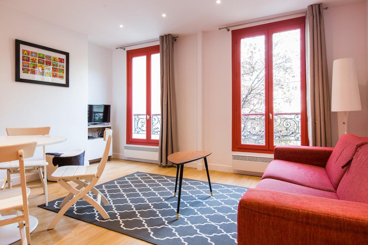 Heart Of Montmartre - Garden View - Apartments for Rent in Paris ...