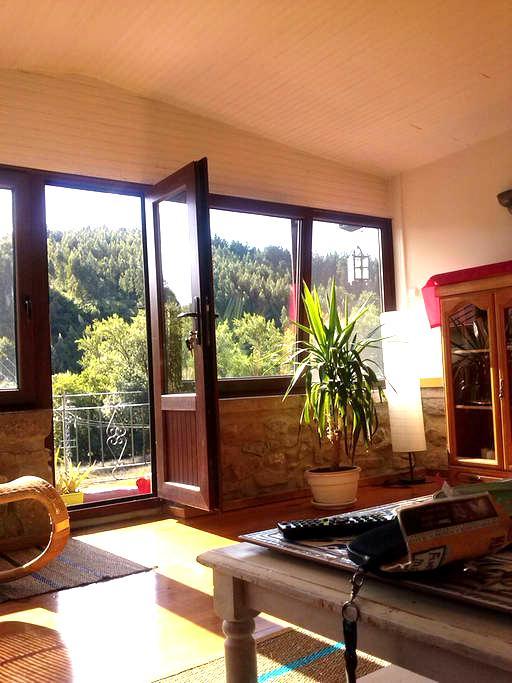 Habitación:casa de piedra reformada - Trucios-Turtzioz - Haus