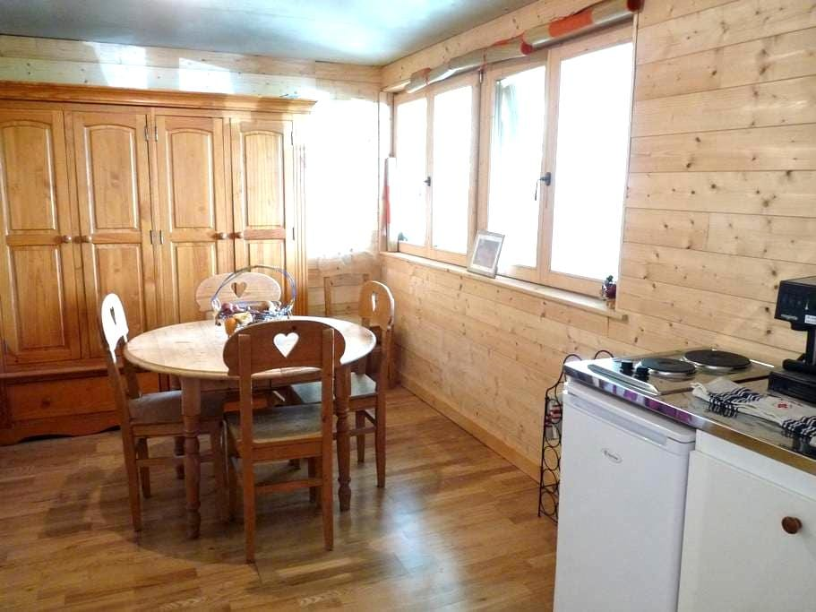 APPARTEMENT PRIVATIF DANS CHALET  - Passy - Apartemen