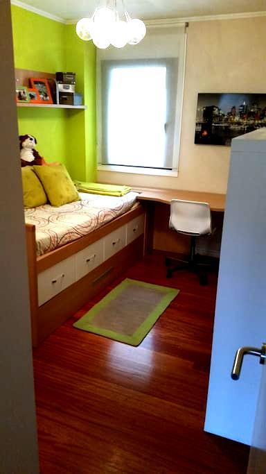 Habitación doble con baño privado - Ourense