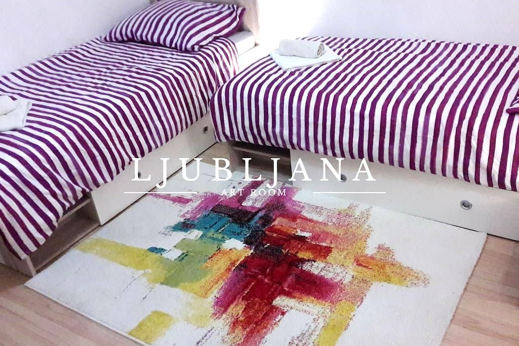 Art Room Ljubljana - Liubliana - Bed & Breakfast