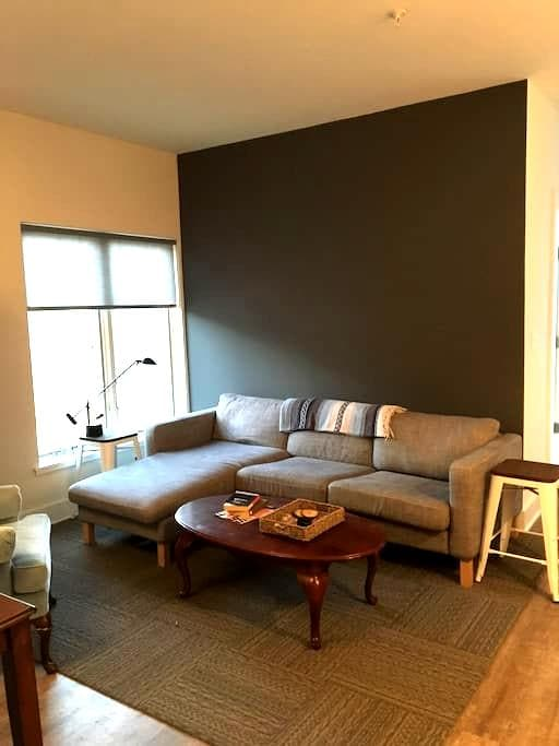 New 1 bdrm, walk to downtown! Discounted 3+ Nights - Charlottesville - Lejlighed