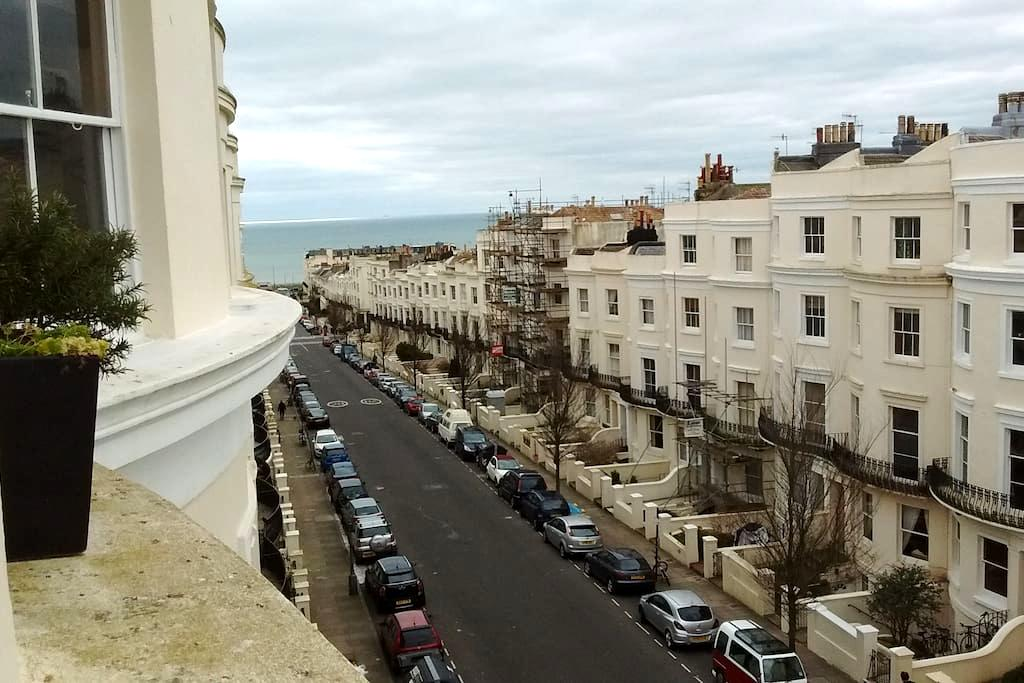 Beautiful central Hove flat close to seafront - Hove - Daire