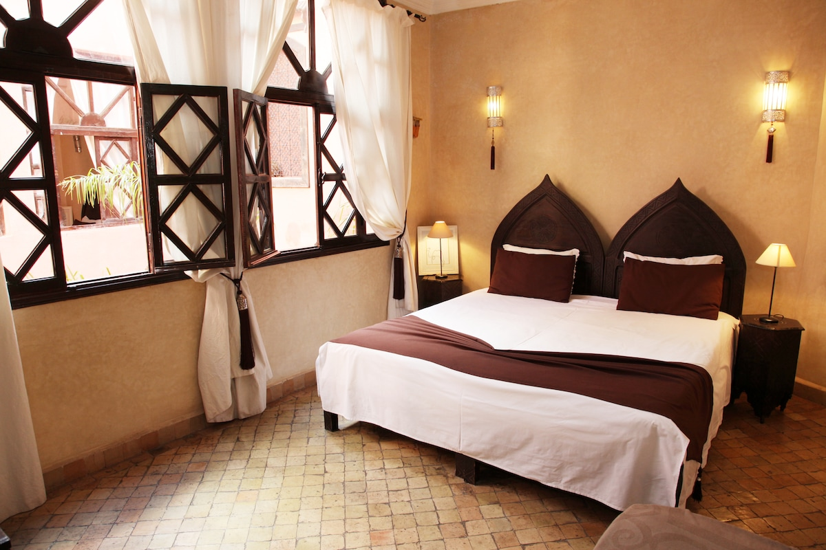 Riad. chambre triple