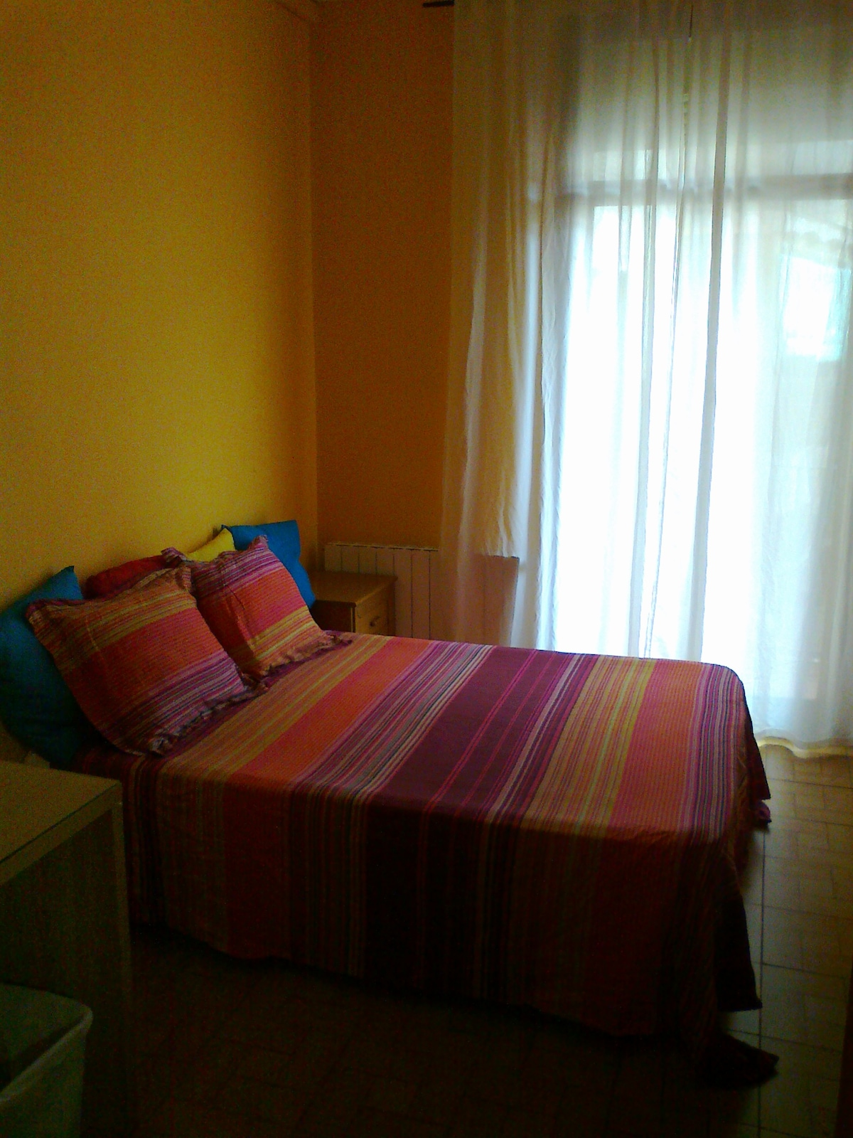 SPACIOUS and COMFORTABLE ROOM: double bed