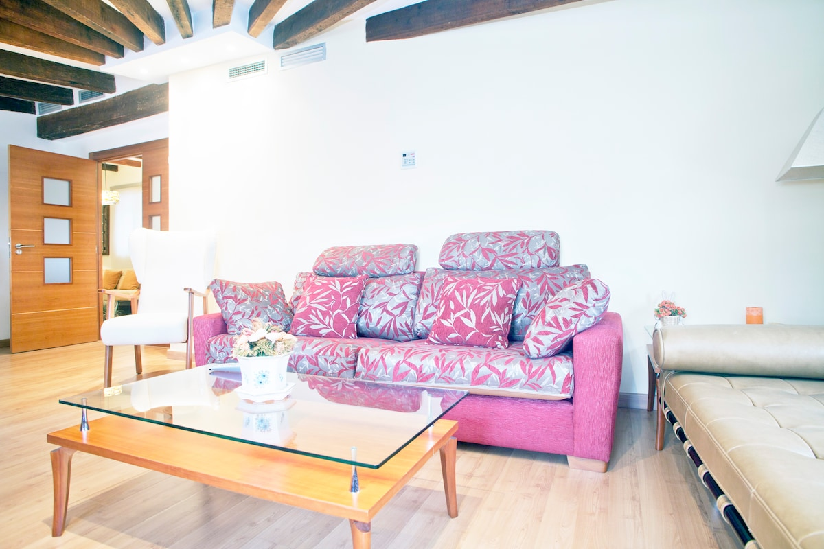 Great charming apartment! 10p+WIFI