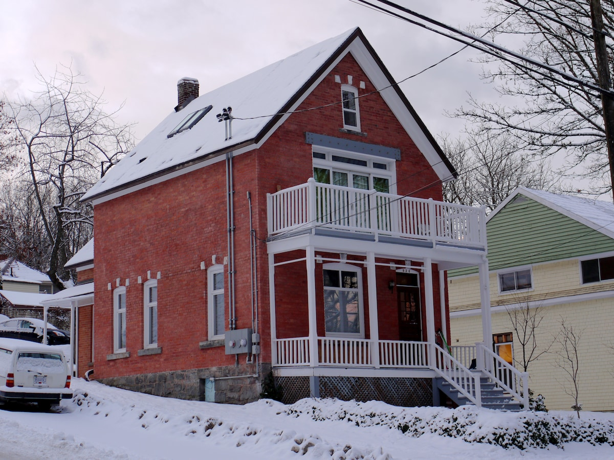 The Red Brick House in Nelson
