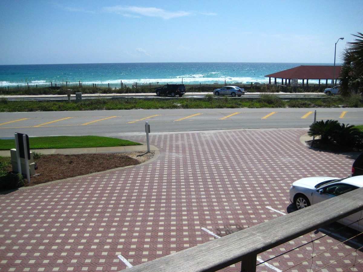 Beach view from front porch