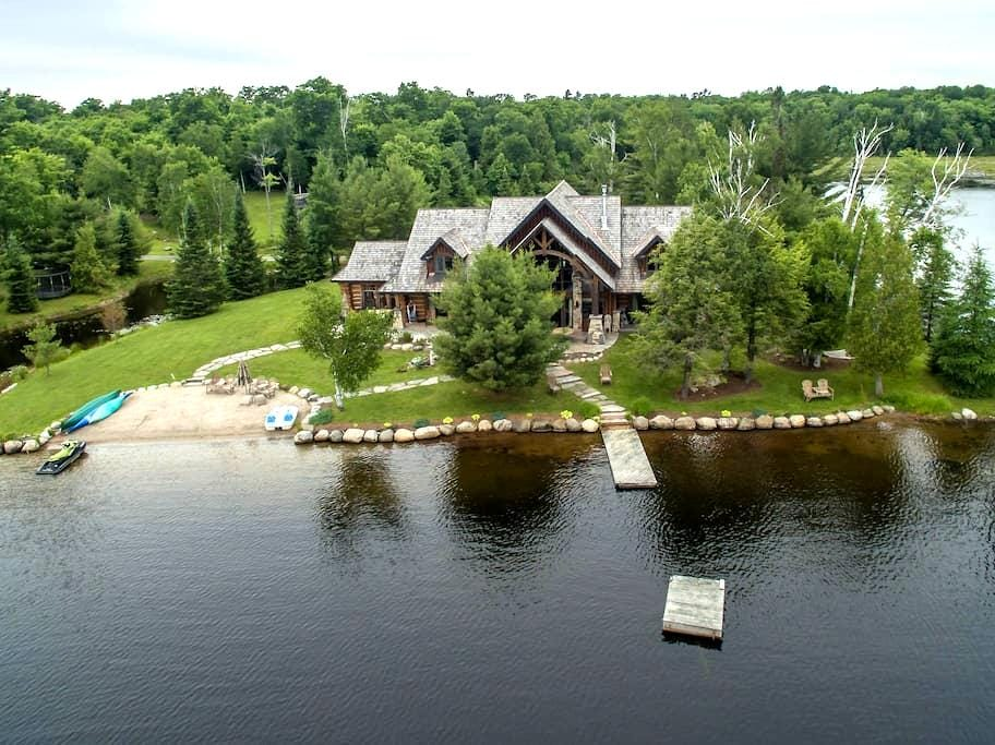Lorimer Lake Timberframe Dream Home - Parry Sound
