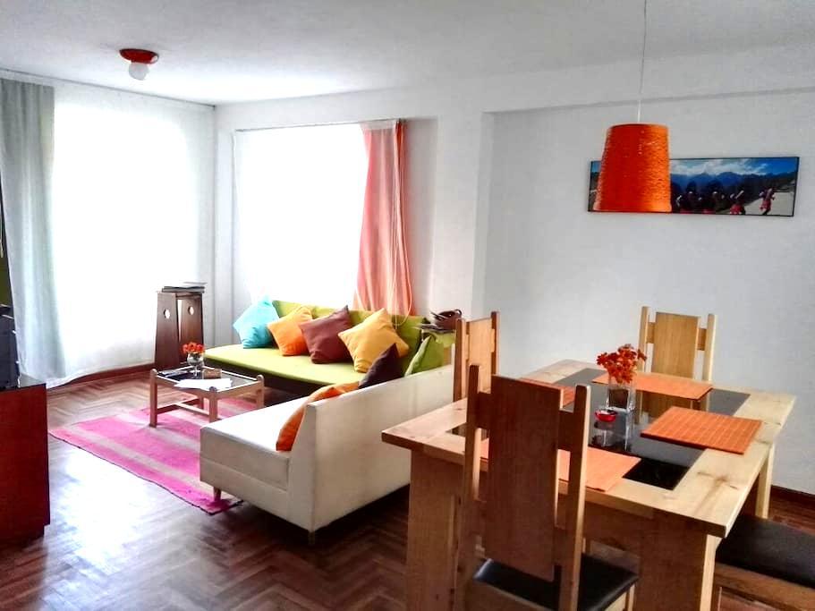 Super departamento en Cusco - Cusco - Apartamento