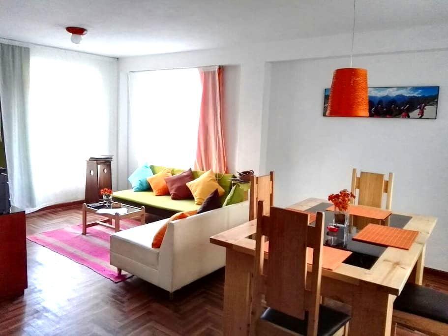 Super departamento en Cusco - Cusco - Apartment