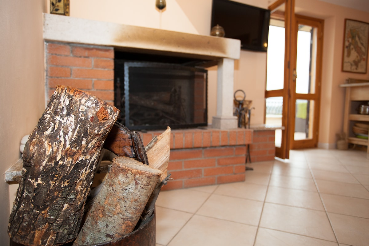 Central heating and a log fire make it cosy throughout the winter too.