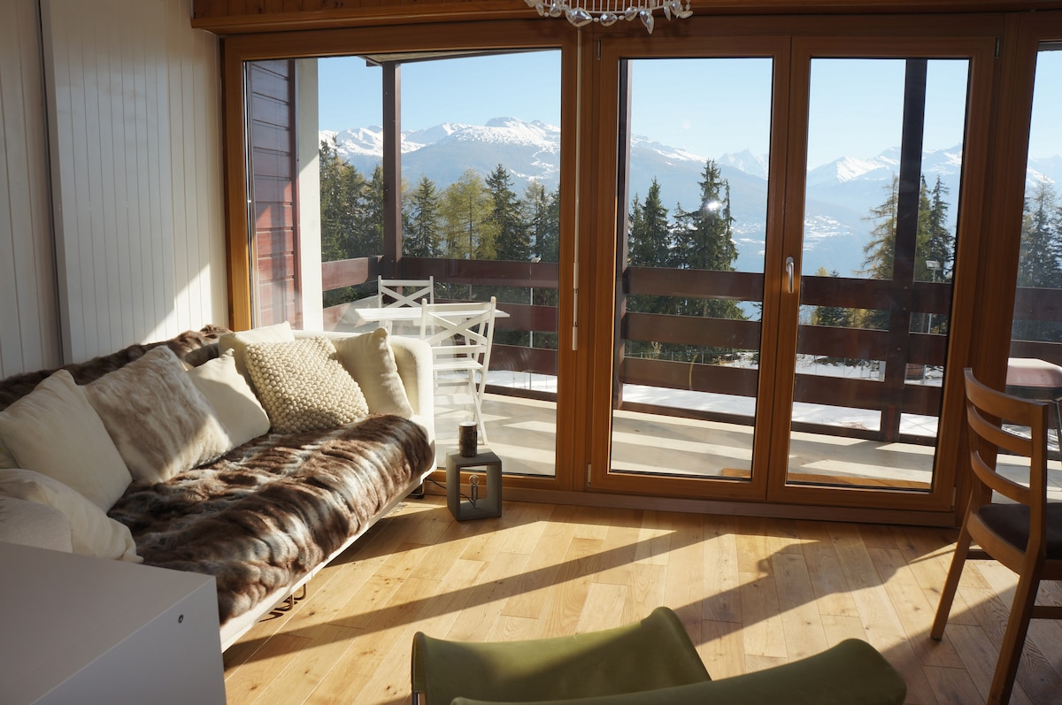 Anzere, Swiss Alps Nr Crans Montana  Apartments For Rent In